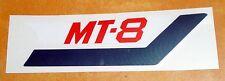 Label Aufkleber Emblem Sticker Seitendeckel rechts cover right Honda MT 8 80 NEU