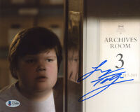 JEREMY RAY TAYLOR SIGNED 8x10 PHOTO BEN HANSCOM IT IT CHAPTER 2 RARE BECKETT BAS