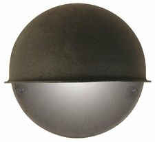 Moonrays 95732 Low Voltage Round Metal Surface Light with 7-Watt Bulb,Cast Black