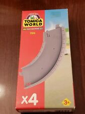 Tomy Tomica World Road Rail 4X  curved track 7513 New in box