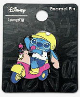 Disney Loungefly Lilo And Stitch Helmet Scooter Enamel Pin
