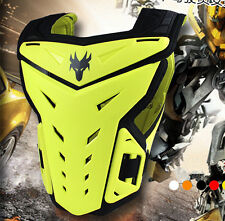 Dirt Bike Motocross Sentinel Body Armour Chest Protector MX Adjustable Yellow