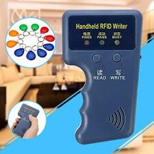 Palmare Card Copier Writer Reader duplicatore + carte RFID 125KHz 10pz