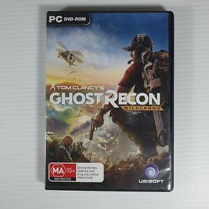 Tom Clancys Ghost Recon Wildlands PC GAME Game Ubisoft *6 Disc*