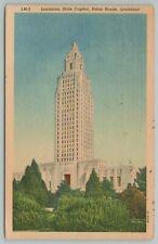 Baton Rouge Louisiana~State Capitol~Vintage Postcard