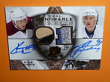 08-09 The Cup  Steven Stamkos / Kyle Turris Dual Numbers RC AUTO PATCH /91 L@@K