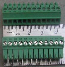 Phoenix Connector Terminal Blocks COMBICON MC 1840463 12POS Connection Plug