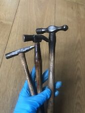 More details for vintage small hammers 🔨 - old tools - 3 pcs