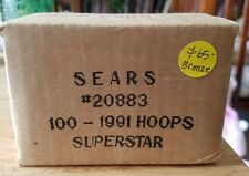 1991 Superstars Nba Hoops Sealed Sears Bronze Box