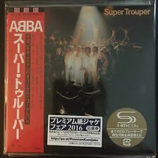 ABBA-Super Trouper SHM MINI LP Style CD NEUF Japon 2016