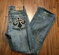 Affliction Bootcut Jeans Men's 32 Waist 30 Inseam