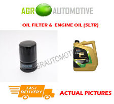 DIESEL OIL FILTER + FS F 5W30 ENGINE OIL FOR FORD MONDEO 1.8 101 BHP 2007-11