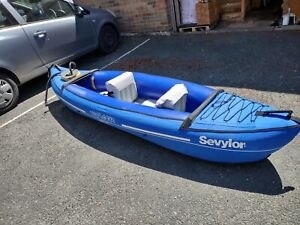 Sevylor inflatable kayak Voyager 2 man complete