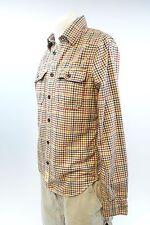 Abercrombie & Fitch Men Multi Color Plaid Long Sleeve Button Down Shirt M A164