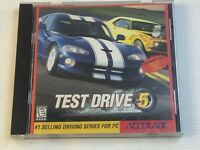 Test Drive 5 Five PC CD-ROM Game 1998 Pit bull Accolade 6040-00287 Windows 95 98
