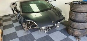 Lamborghini Gallardo LP560-4 bonnet, grey, damaged repairable