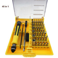 45 in1 Multi Precision Hex Torx Star Mini Screwdriver Set Bits Repair Tool Kit