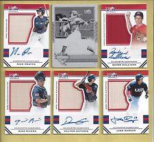 2017 USA Baseball Stars and Stripes Printing Plates Black #7 Jake Burger #1/1!!