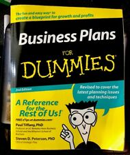 Business Plans for Dummies by Paul Tiffany and Steven D. Peterson (2004,...