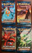POKEMON TCG PLATINUM : PLATINUM RISING RIVALS BOOSTER PACK X 4