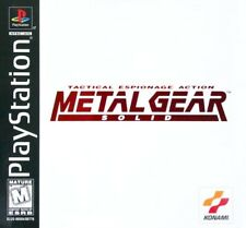 Metal Gear Solid - PS1 PS2 Complete Playstation Game