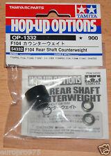 Tamiya 54332 F104 Rear Shaft Counterweight (F104W/F104Pro/F104X1), NIP