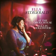 ELLA FITZGERALD - AT THE OPERA HOUSE/IN HOLLYWOOD   CD NEUF