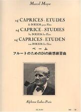 24 Caprices - Etudes de Boehm pour Flûte - Marcel Moyse
