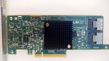 Dell GTP9G LSI SAS9217-8i 9207-8i RAID/HBA SAS CARD 8 INTERNAL 6Gb/s SATA3 R76Y4