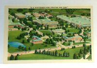 Syracuse New York GE Electronics Park Linen Vintage Postcard