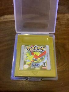Pokemon: Gold Version (Nintendo Game Boy Color,