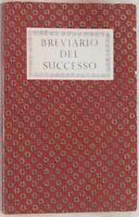 BREVIARIO DEL SUCCESSO READER'S DIGEST VERDI ARNO EIFFEL HELEN KELLER SUCCESS