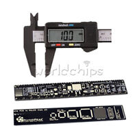 PCB Ruler for Electronic Engineers+Carbon Fiber Vernier Caliper LCD Electronic