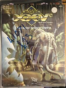 Buck Rogers - Xxv 25TH Century Personaje Registro Hojas 3570