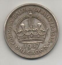 AUSTRALIA - 1937 ONE CROWN