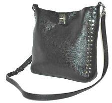 Rebecca Minkoff Small Darren Leather Feed Bag- Color Black  $245