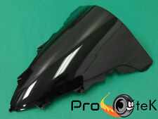 2009-2014 Yamaha YZF R1 ABS Smoke Black Double Bubble Windscreen Windshield