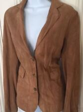 Zara Finest Suede Fitted Jacket UK S Similar are £149 new without labels