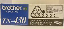 GENUINE BROTHER TN-430 HL-1240/HC1250 TONER INK CARTRIDGE / E1-5 New Sealed