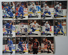 1991-92 Pro Set Series 1 Quebec Nordiques Team Set of 14 Hockey Cards