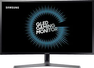 Samsung C32HG70QQN 32in Curved OLED Gaming Monitor QHD 144hz HDR Factory Referb