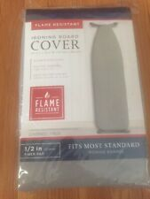 Ironing Board Cover in Gray - 54 in x 15 in Flame Resistant