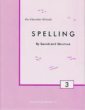 Spelling by Sound and Structure Grade 3 Student Workbook