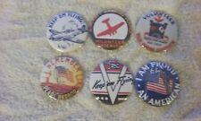 6 Ww Ii patriotic homefront refrigerator magnets