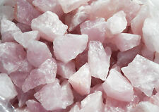 2 lb ROSE QUARTZ Beautiful Rough TUMBLING ROCK Crystal Tumbler Tumble