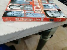 DVD GREY'S ANATOMY SECONDA SERIE PARTE SECONDA PARTE COFANETTO CO 4 DVD