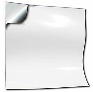 50pc White Tile Stickers 6 x 6 inch White Transfers Covers for