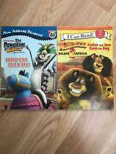 Early Readers Penguins Of Madagascar & Madagascar 2