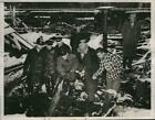 1947 Press Photo Herbert E Rasmussen Admits to Fire General Products Comp Chicag