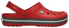 Crocs Crocband Schuhe Hausschuhe Sandalen Clogs Pantoletten (Pepper)